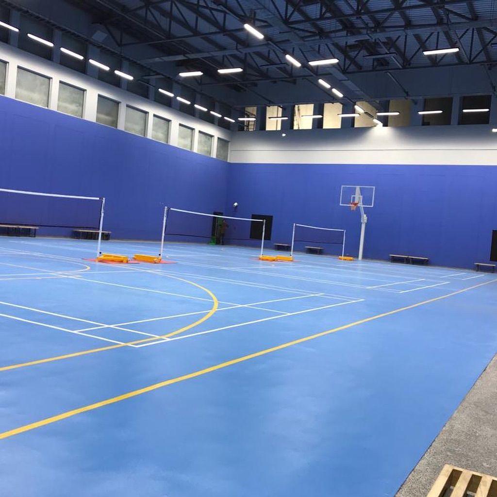 badminton basketball acrylic PU surface for a