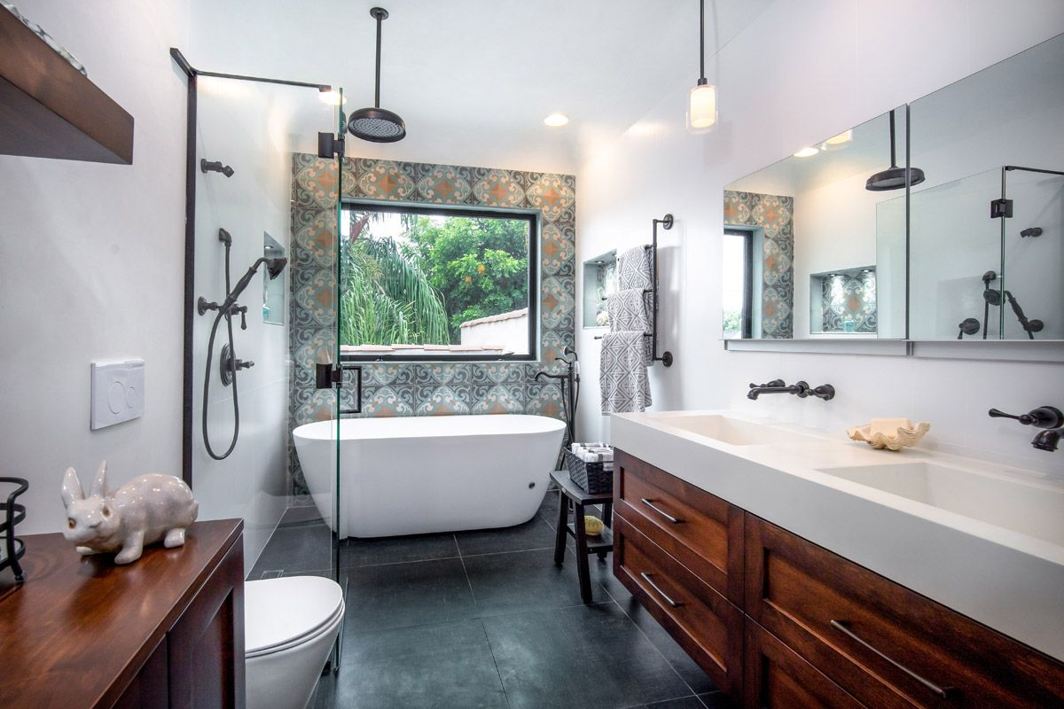 Full Master Bathroom Remodel With Plumbing Relocation Custom Design Cabinetry In 2020 Small Bathroom Remodel Bathrooms Remodel Bathroom Remodel Master