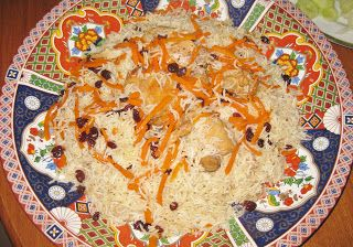 Just Like This Qabeli Palau With Chicken Food Afghanistan Food Baby Food Recipes