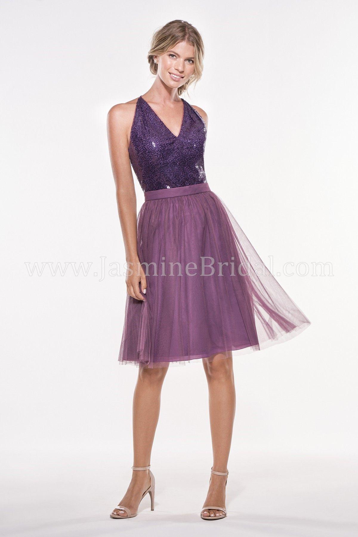 Jasmine Bridal - Jasmine Bridesmaids Style P196013K in Sequin II ...