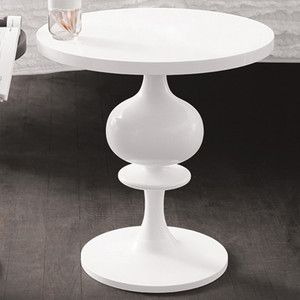 High Quality White Pedestal Side Table   Google Search