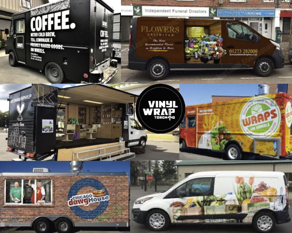 Mobile Business Wrap In 2020 Mobile Business Wrap Advertising Car Delivery