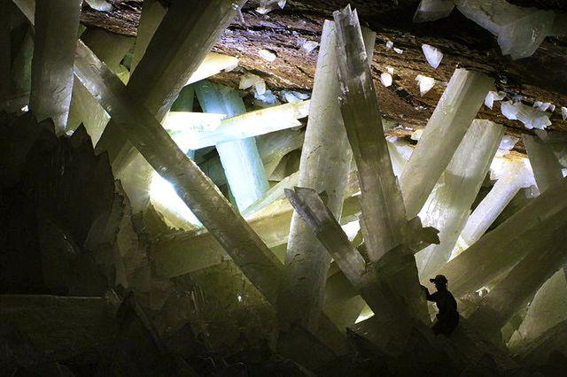 Cueva de los Cristales, chihuahua, mexico