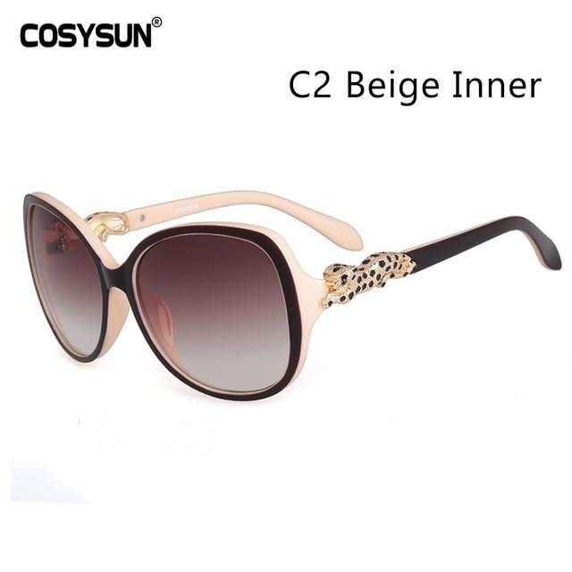 001cb168ad 2018 COSYSUN Brand Leopard Sunglasses Women sun glasses Women Brand  designer Women Sunglasses Luxury Sunglasses Women