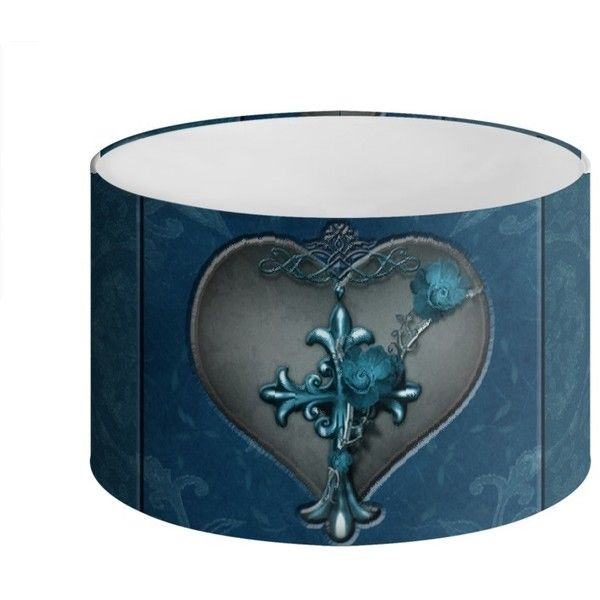 Royal Bleu Loyalty Drum Lamp Shade ($75) ❤ liked on Polyvore featuring home, lighting, drum lamp-shade, silver lights, drum lamp shade, silver lamps and drum shade lighting