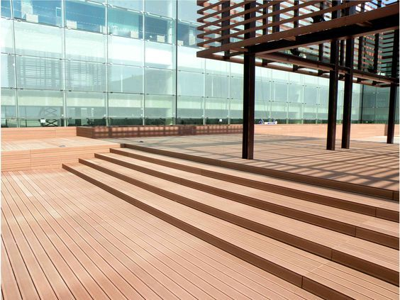 High Stability Spacing On Composite Decking,fire Retardant Decking Wood For  Sale,composite Deck