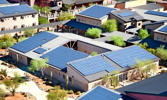 The Sheer Size Of Tesla S Massive Battery Factory Could Be A Game Changer In Many Ways Solar Panels Solar Residential Solar