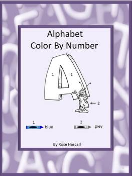 Alphabet Color By Code Alphabet Coloring Pages Special Education