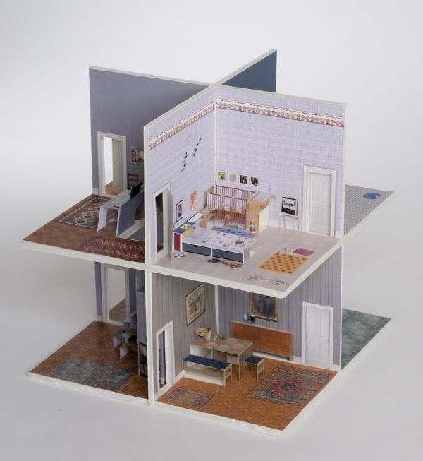 Pop up paper house you can make yourself either download for Room paper
