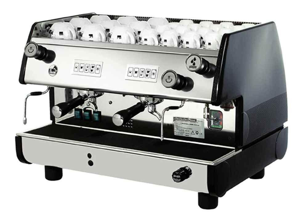 La Pavoni BAR-T 2V-B Commercial 2 Group 14L Boiler Volumetric Espresso Machine -- For more information, visit image link.