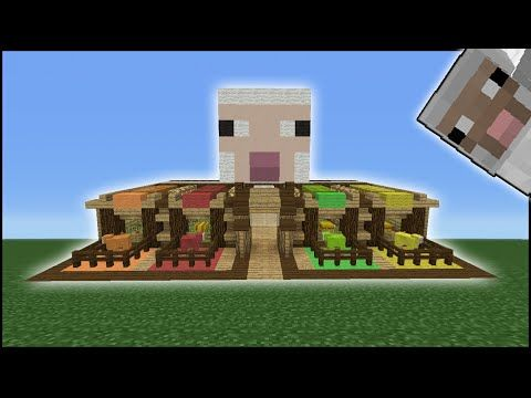 Minecraft Tutorial How To Make A Sheep Pen Youtube Minecraft