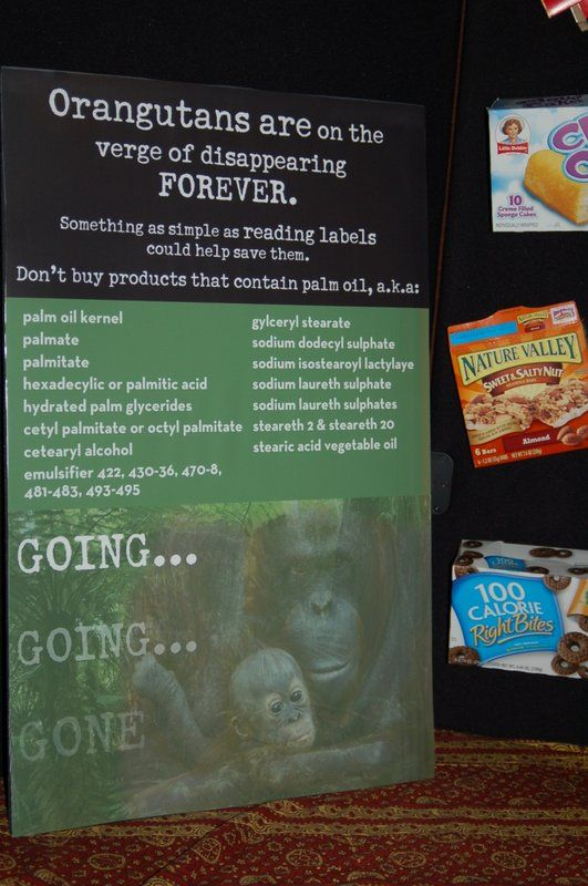 Check the label for these other names for palm oil