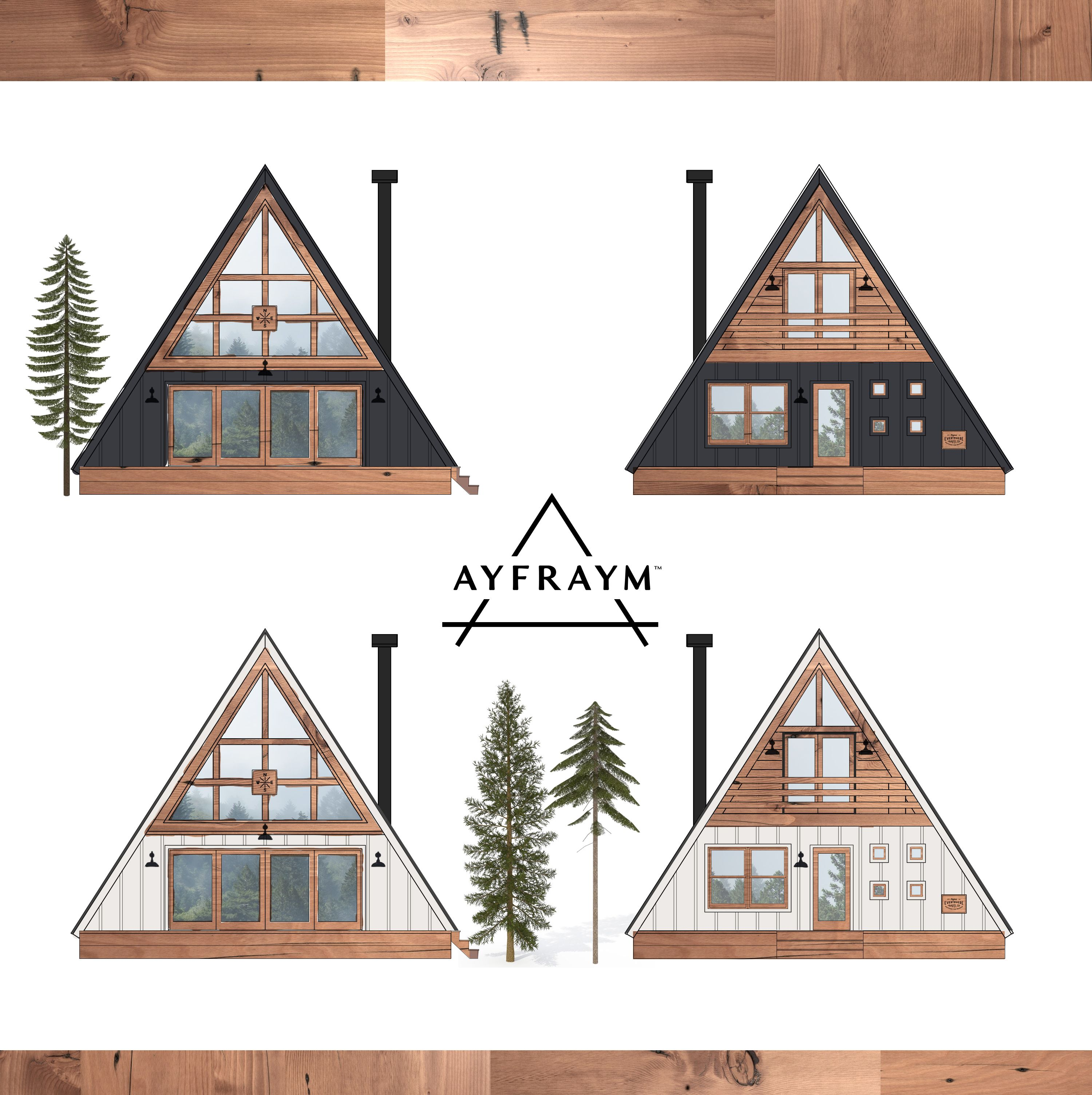Ayfraym Concept By Everywhere Co A Frame Cabin Plans A Frame Cabin A Frame House Plans