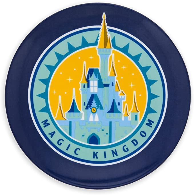 Amazon Com Disney World Magic Kingdom Plate Disney World Magic Kingdom Disney Plates Magic Kingdom