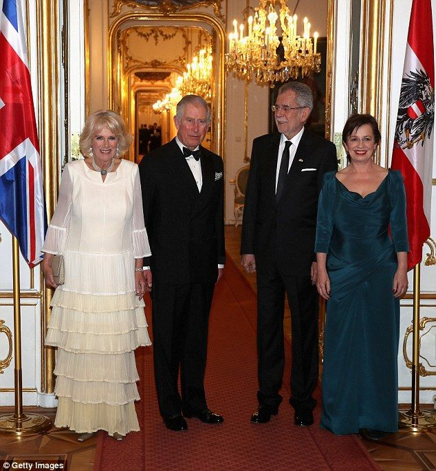 Prince Charles And Camilla Attend A State Dinner In Vienna