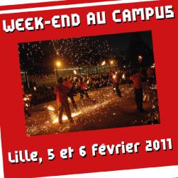 Gazette-u.fr - Vie étudiante.  Venez passer votre week-end au campus de l'Université Lille 1 les 2 et 3 février 2013 !
