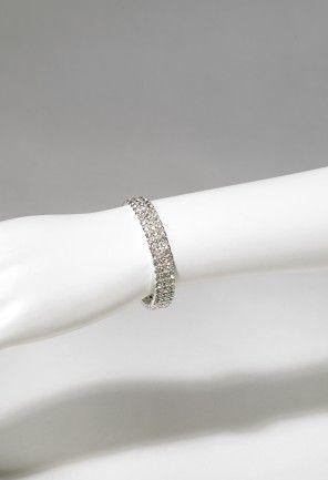 Jewelry - 3 Row Stretch Rhinestone Bracelet from Camille La Vie and Group USA