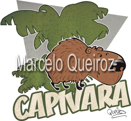 Capivara (Brazilian fauna)