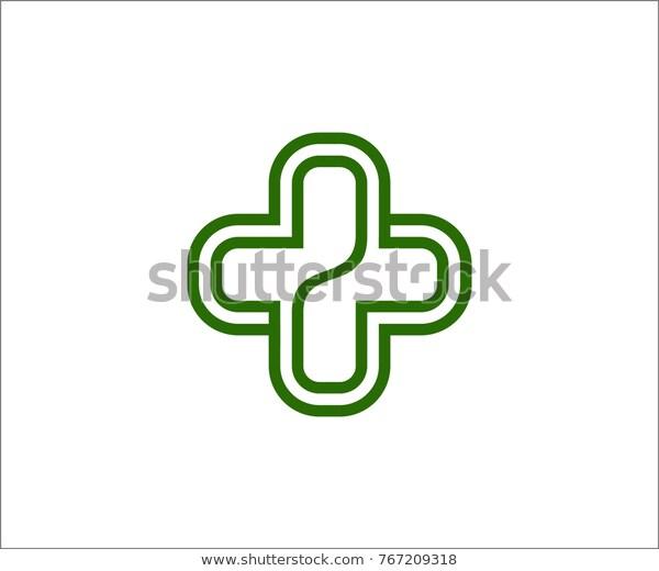 Healthcare Logo Symbol Vector Stock Vector Royalty Free 767209318 Healthcare Logo Stock Vector Symbols