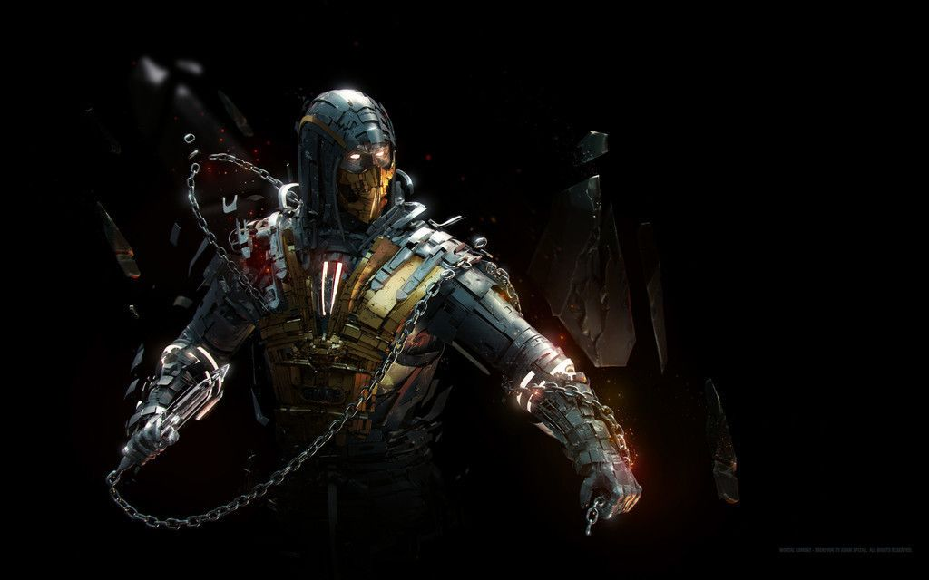 Scorpion Mortal Kombat Artwork Wallpaper Mortal Kombat Scorpion Mortal Kombat Artwork