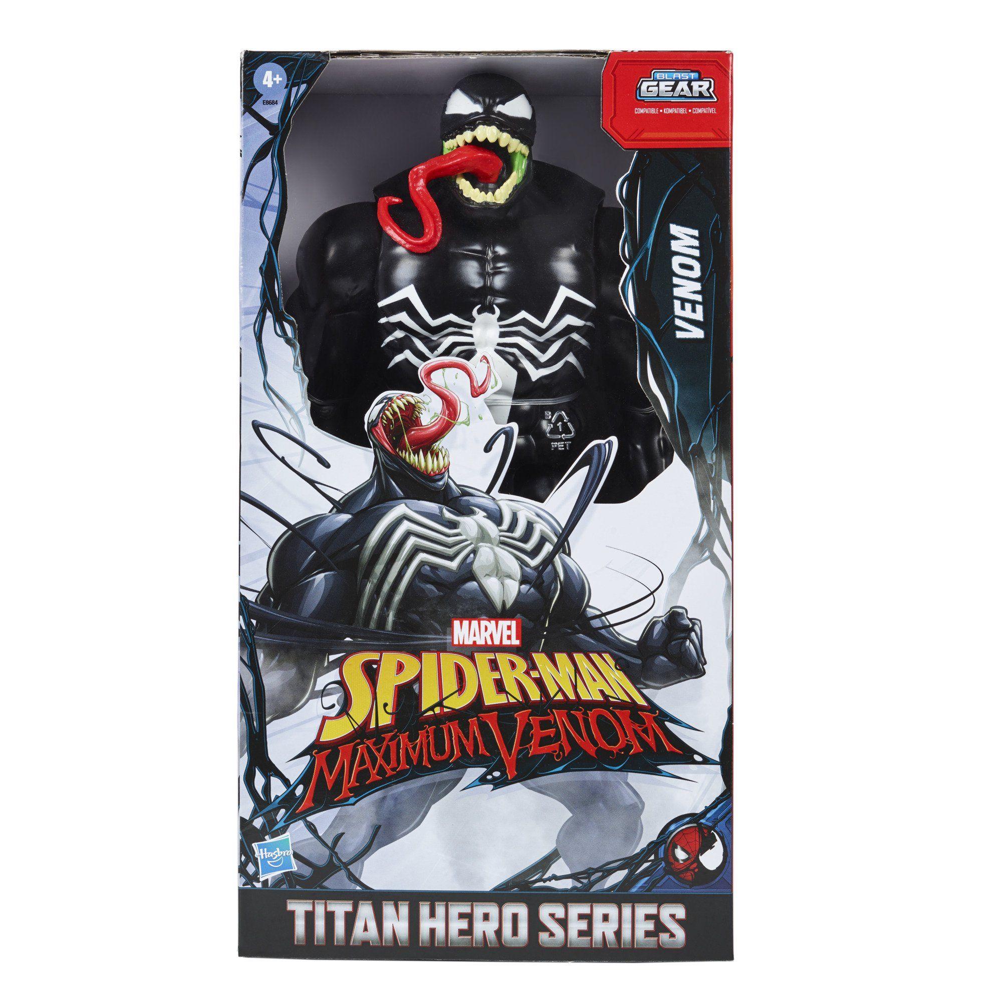 Spider Man Maximum Venom Titan Hero Venom Walmart Com Spiderman Marvel Spiderman Venom