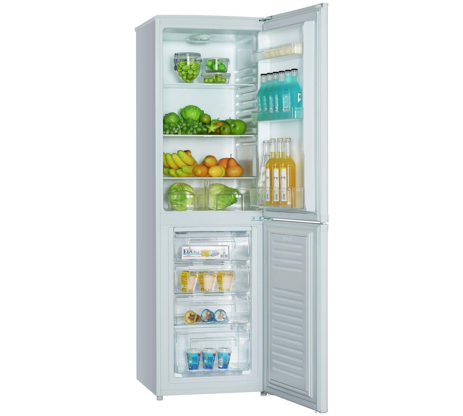 Buy Bush BFFF55174W2 Fridge Freezer - White at Argos.co.uk, visit ...