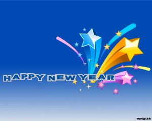 new year eve powerpoint template or new year celebrations background happy new year
