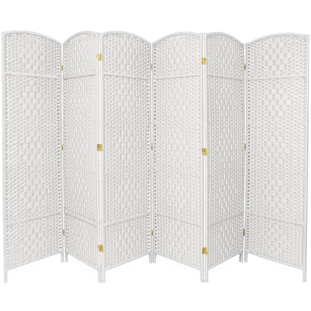 Surprising Oriental Furniture 6 Ft White 6 Panel Room Divider House Download Free Architecture Designs Embacsunscenecom