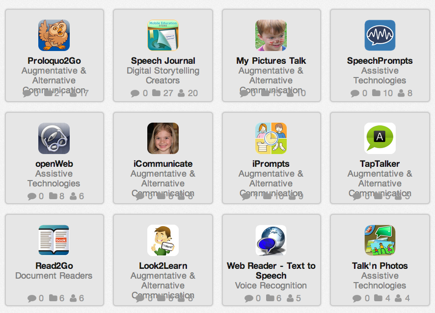 Special Needs Apps From November >> Some Notable Tools And Apps For Special Needs Students Autism