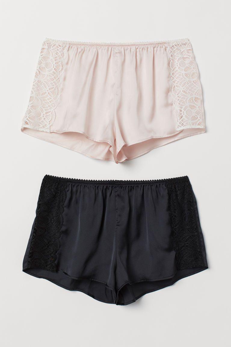 Betere Set van 2 pyjamashorts (met afbeeldingen) | Pyjama broek CR-79