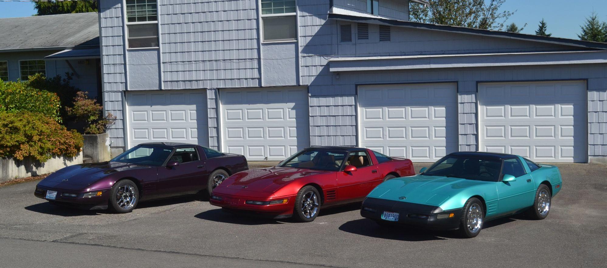 1991 corvette black rose colors | My 3 Favorite C4 Colors In