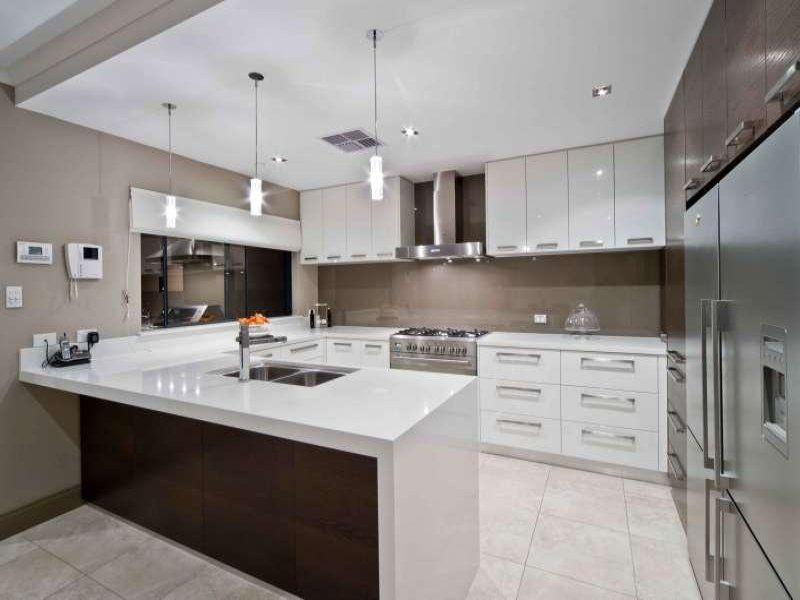 Kitchen Design Ideas And Photos Gallery Realestate Com Au White Modern Kitchen Kitchen Layout Modern Kitchen Design