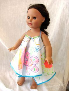 When I was a kid I was always trying to make stuff for my dolls out of things around the house. My Barbie dolls had furniture, clothes and even their own shopping catalog made from recycled cardboa...
