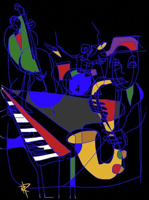 Jazz Quartet | Art Speaks to My SOUL in 2019 | Jazz art, Art