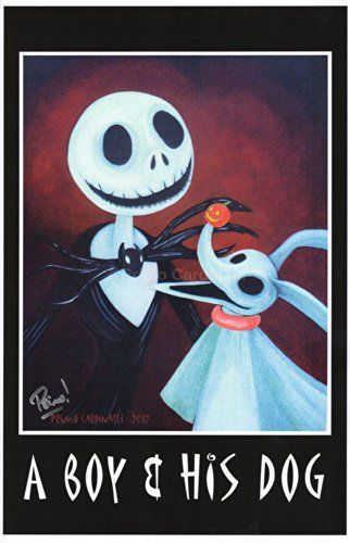 A Boy and His Dog (The Nightmare Before Christmas) 11\