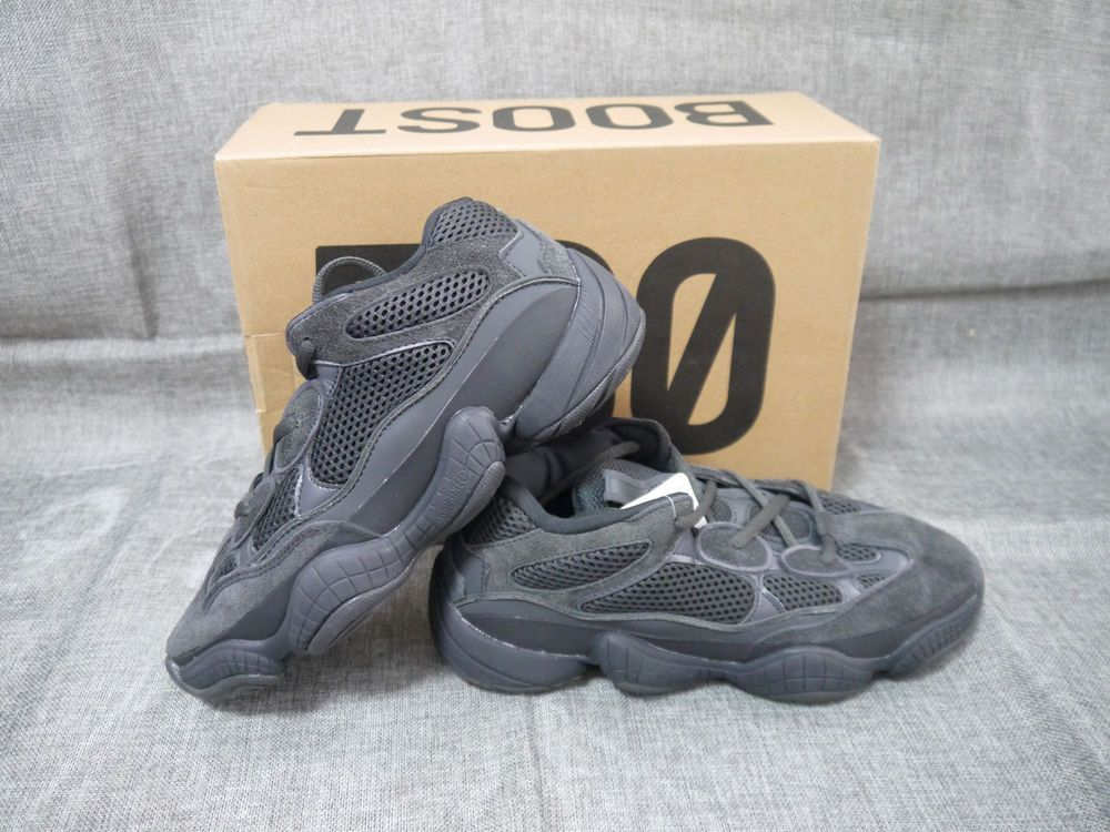 d7b6824a8e5f Size 8.5 Adidas Men's Yeezy Boost 500 Utility Black -F36640 Utiblk ...