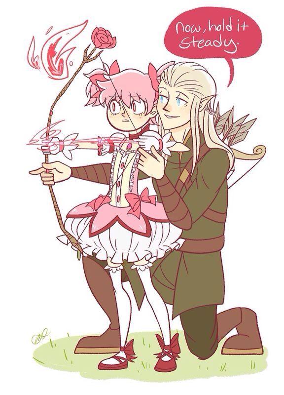 Lotr and madoka