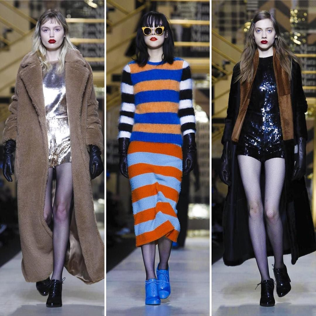 """""""Toque anos 1940 e o poder feminino da época no inverno da @maxmara. A coleção traz os casacos longos característicos da marca assim como os terrosos,…"""""""