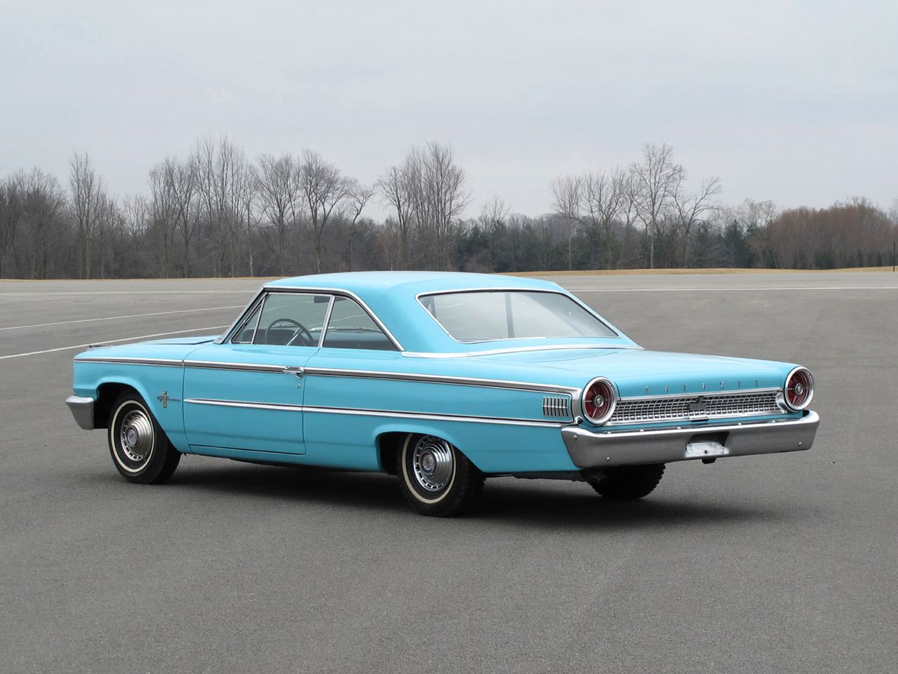 Ford Galaxie 500 Ford Galaxie 500 Fastback Hardtop 1963 Ford