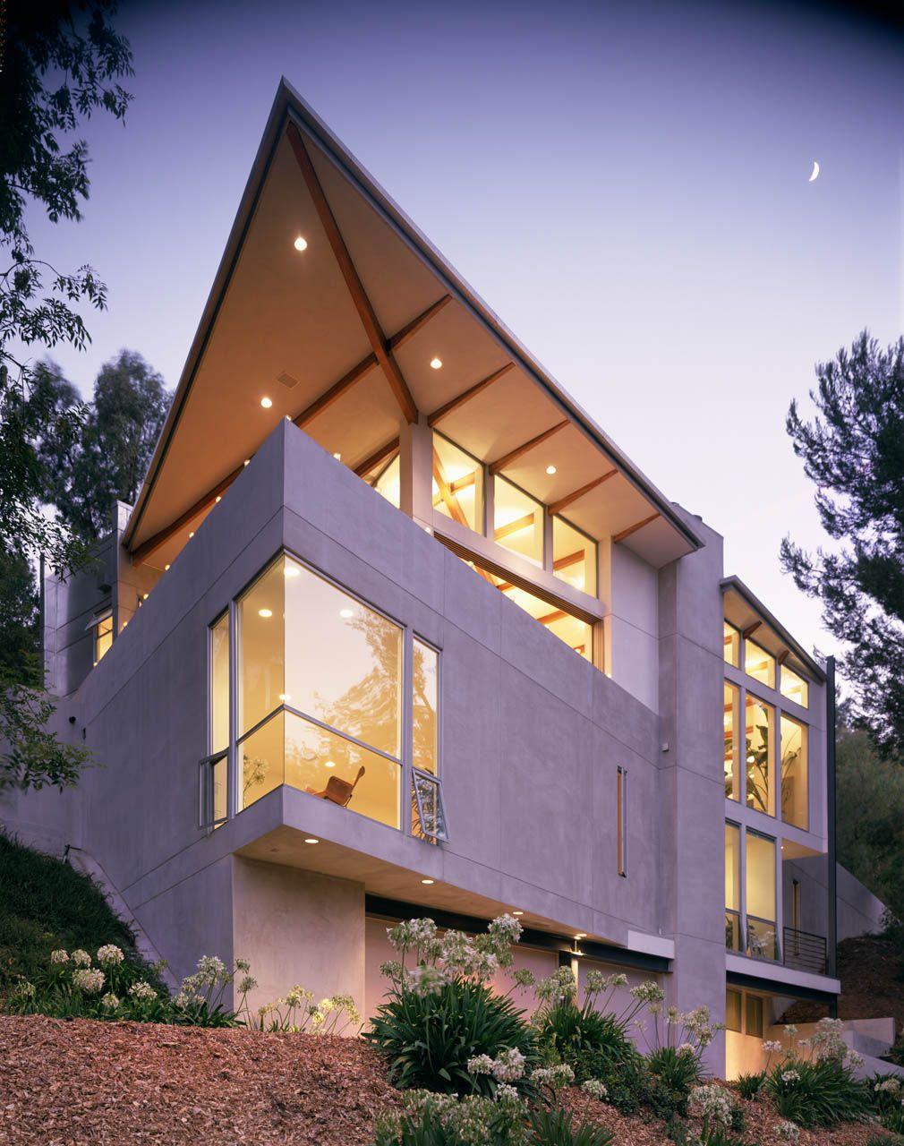 Flint Peak Residence Belzberg Architects Pasadena Ca Doors - Open-air-sculpture-residence-by-marek-rytych-architekt