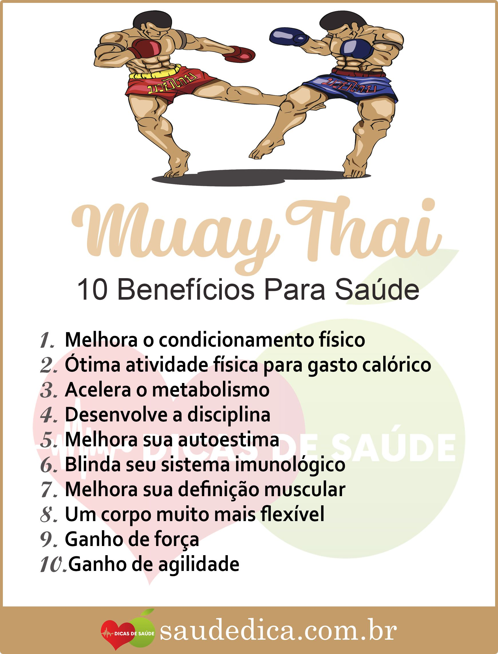 Os 9 Beneficios Do Muay Thai Para Saude Muay Thai Educacao