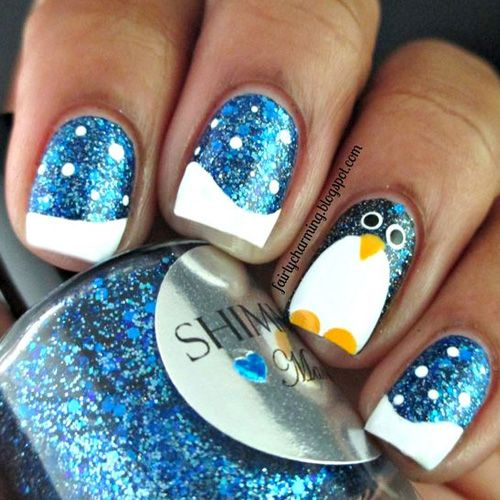 Best winter nails for 2018 65 cute winter nail designs winter best winter nails for 2018 45 cute winter nail designs best nail art prinsesfo Image collections