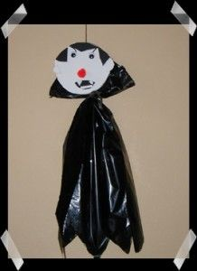 Vampire Craft For Hallowen Halloween Craft Idea For Kids