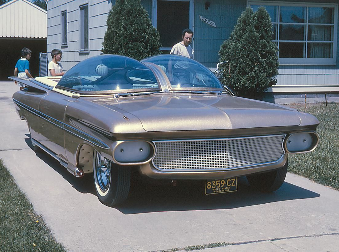 The Ultimus - A Customized 1959 Chevrolet El Camino