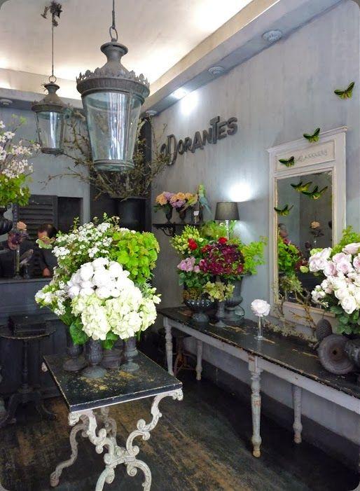 Botanical Brouhaha Flower Shop Interiors Flower Shop Flower Shop Display