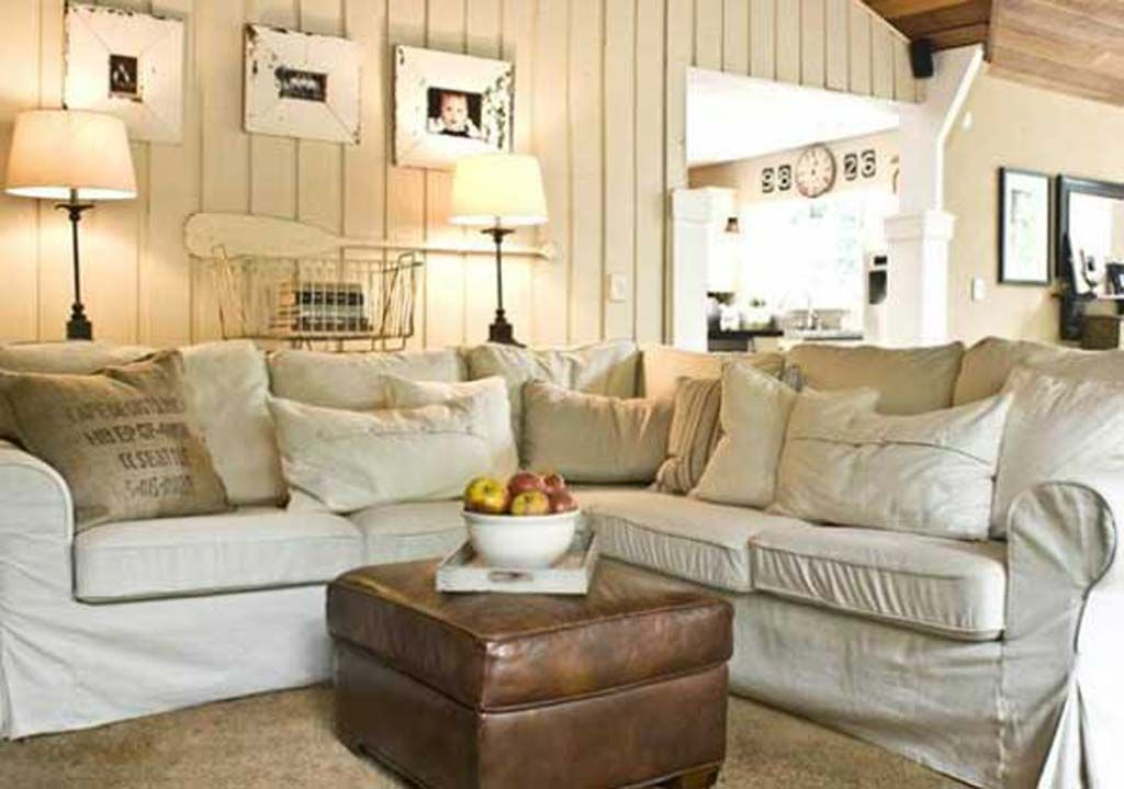 9 Shabby-Chic Living Room Ideas to Steal   Porch plants, Shabby chic ...