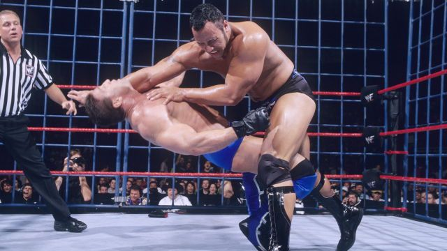 The Rock vs. Ken Shamrock | Ken shamrock wwe, The rock, Wwe news