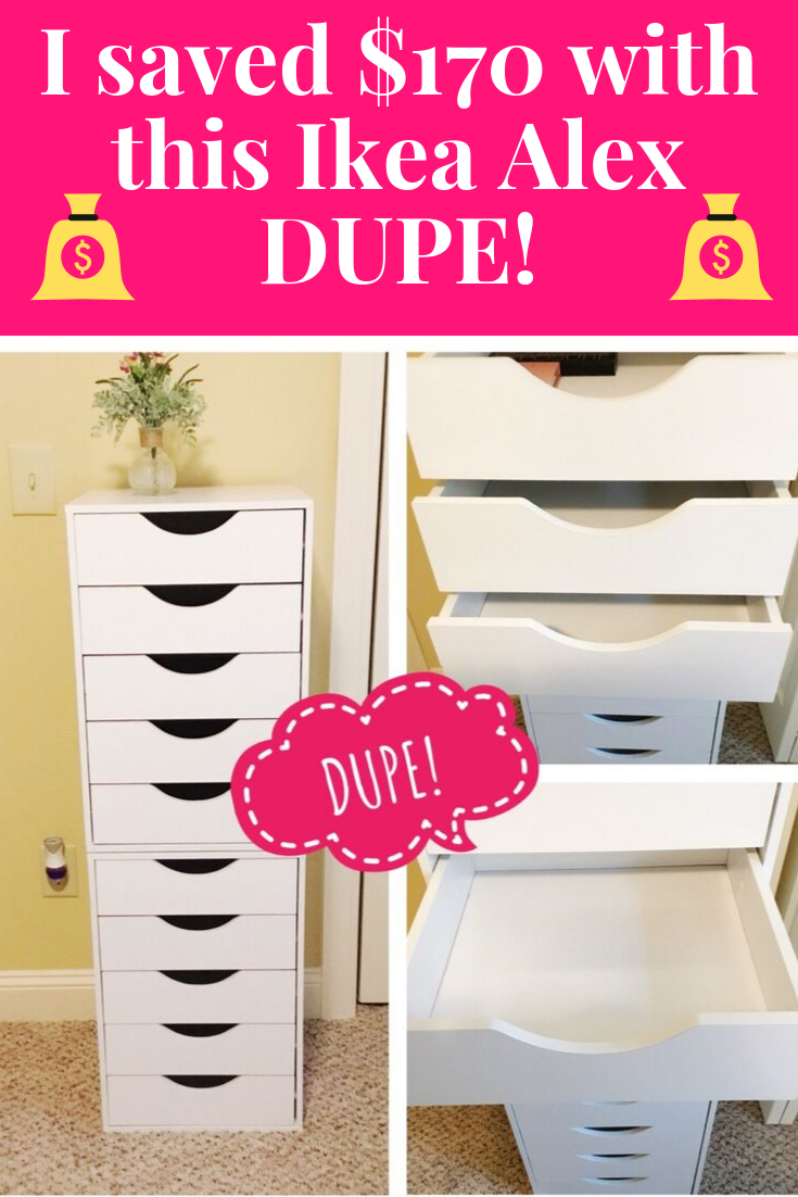 I Saved $170 With This IKEA Alex 9 Drawer Dupe