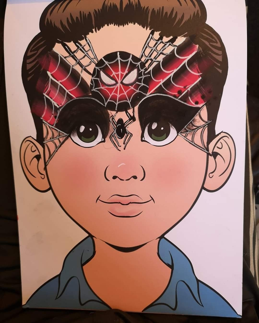 Pin By Alx Farrow On Inspiring Ideas 4 Face Painting In 2020 Spider Man Face Paint Face Painting Body Painting