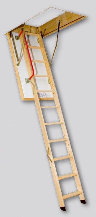 Escalera escamoteable de 3 Tramos LTK Thermo | Stairs | Pinterest ...